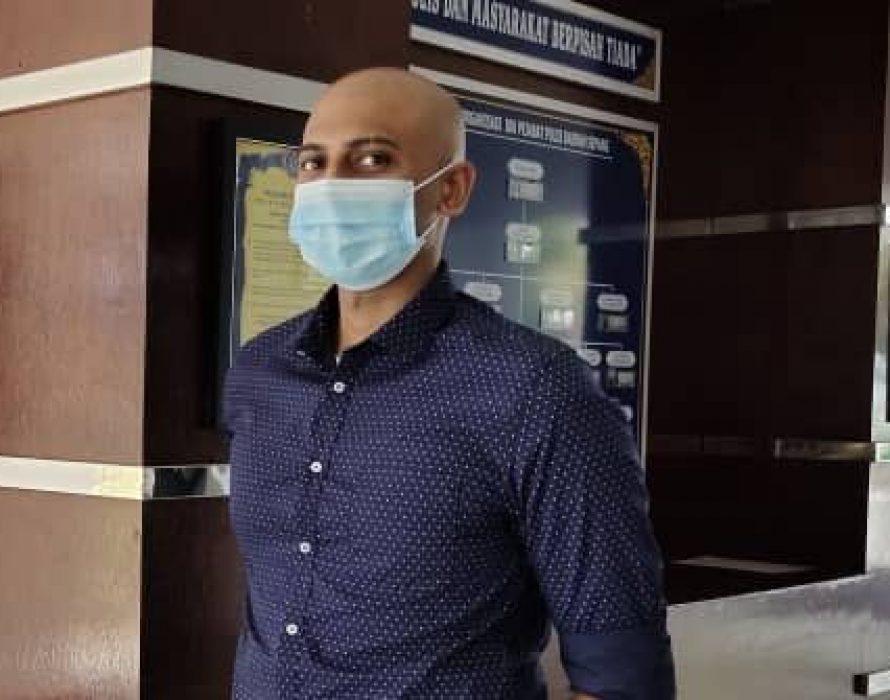 Police record doctor's statement regarding viral COVID-19 vaccine video