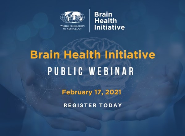The World Federation of Neurology is pleased to announce its launch of the Brain Health Initiative, a global campaign to promote the importance of brain health. The programming aims to reduce the burden of brain diseases and disorders, which are the second leading cause of death globally. To launch the initiative, the World Federation of Neurology is hosting a webinar on February 17 at 3:00 p.m. UK. The webinar is free to attend and registration can be found at https://bit.ly/3ttIzuT.