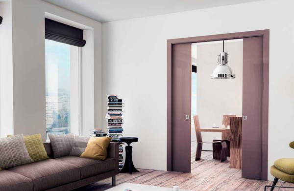 SCRIGNO pocket doors offer more useable space, removing the homeowner's space and design constraints.