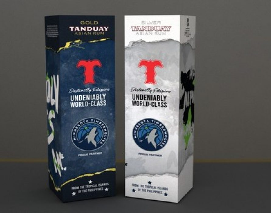 World's Top-Selling Rum Tanduay Partners With Minnesota Timberwolves