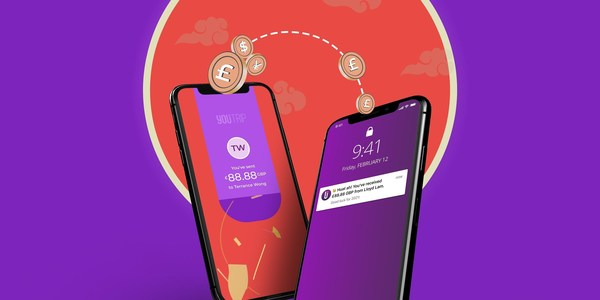 YouTrip Guarantees up to S$888 Cashback When Users Send an E-hongbao This Chinese New Year