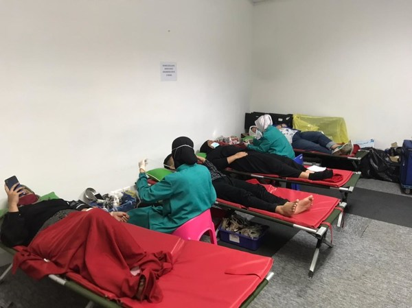 JULO organized a blood donation activity on Monday, March 15th, 2021