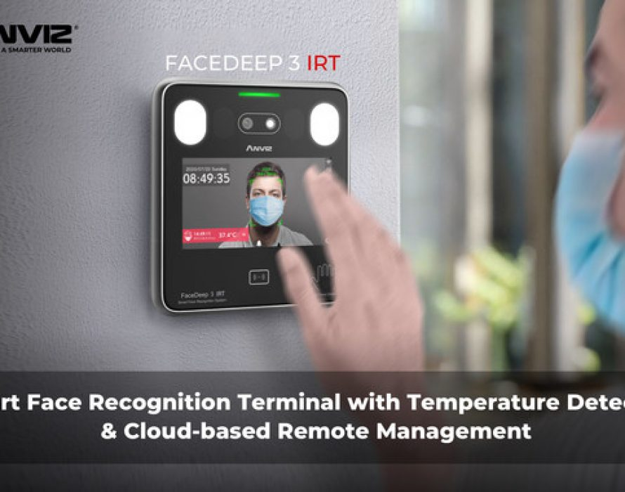 Anviz Launched New CrossChex Cloud System along with FaceDeep 3 Contactless Face Recognition Terminal