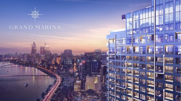 Grand Marina Saigon - the first highly anticipated project is situated at a one-of-a-kind location in the heart of Ho Chi Minh City, is a large-scale, mixed-use complex with residential, office and commercial features. It is Marriott International's largest branded residence project in the world.