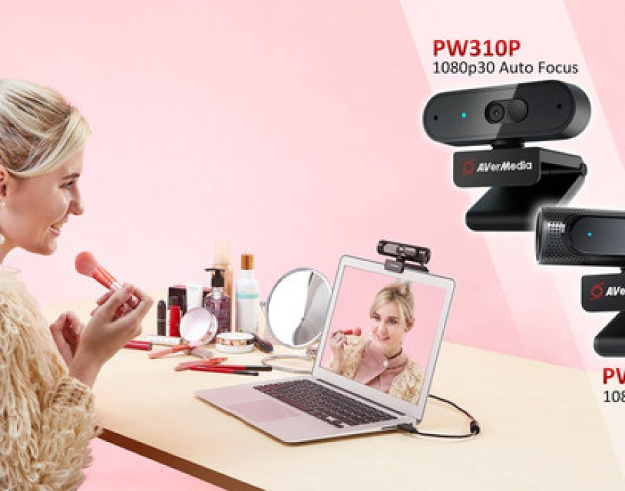 AVerMedia adds two high-performing webcams to its portfolio for video conferencing from anywhere