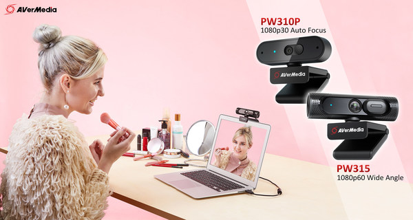 The PW310P and PW315 cater for beginner and professional users wanting to connect seamlessly via video, sharing uninterrupted content