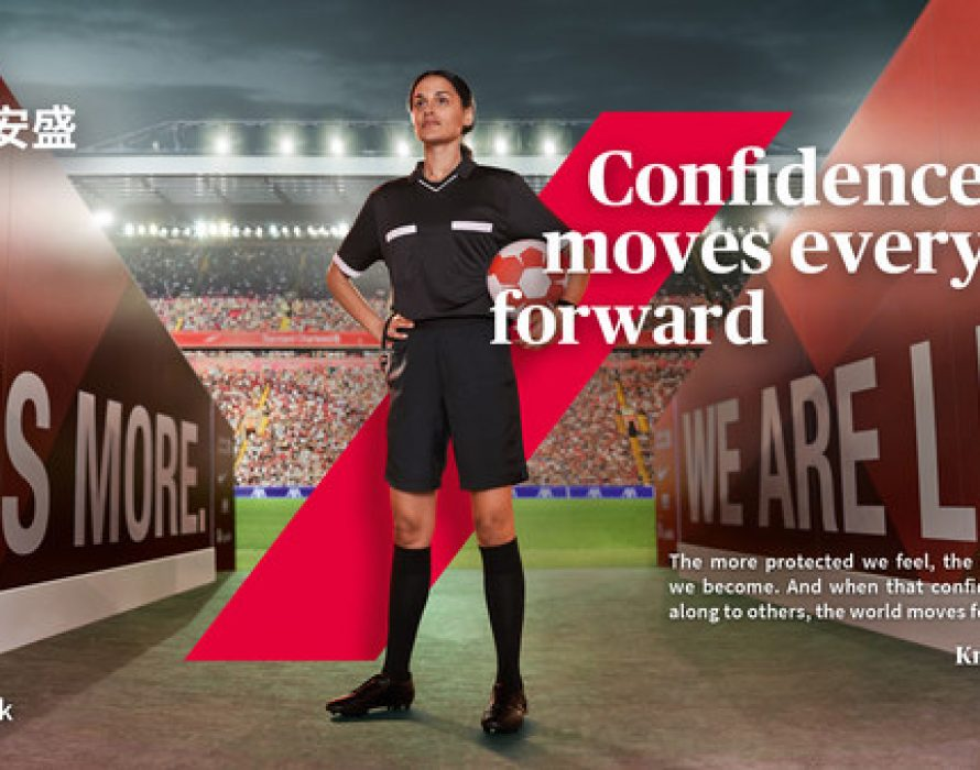 AXA rolls out new global brand campaign to inspire confidence and progress