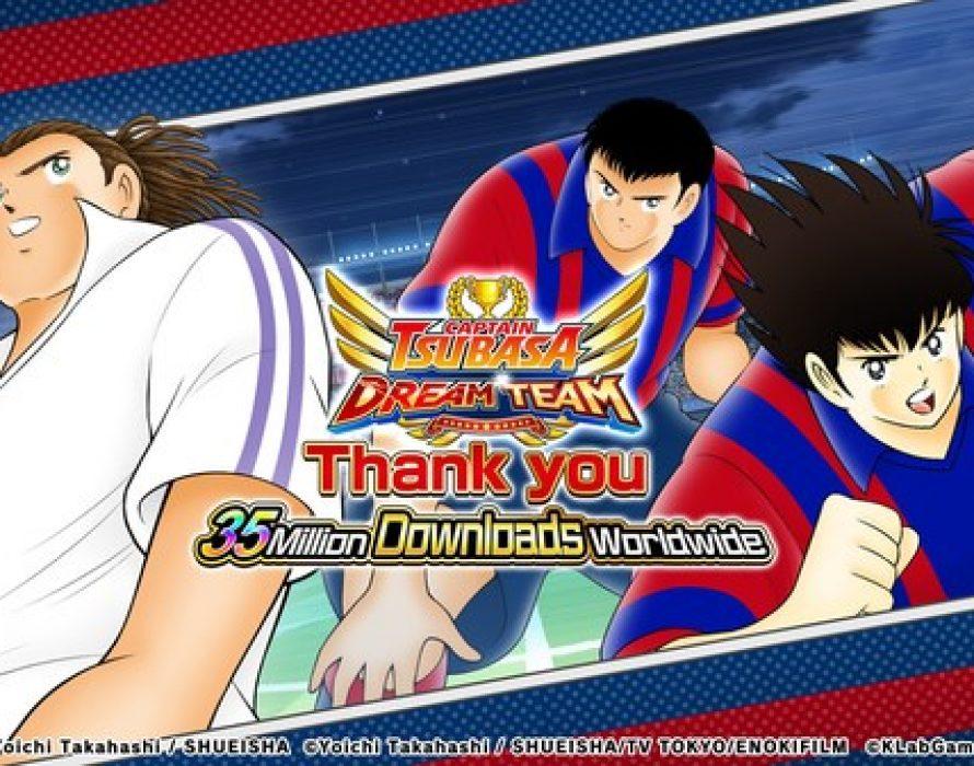 """Captain Tsubasa: Dream Team"" Celebrates 35 Million Downloads Worldwide!"