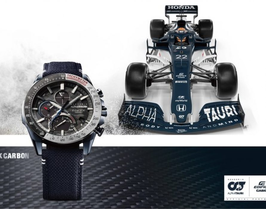 Casio to Release New 6K Carbon EDIFICE Watches in Collaboration with Scuderia AlphaTauri Racing Team