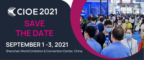 Join us at CIOE 2021 on September 1-3