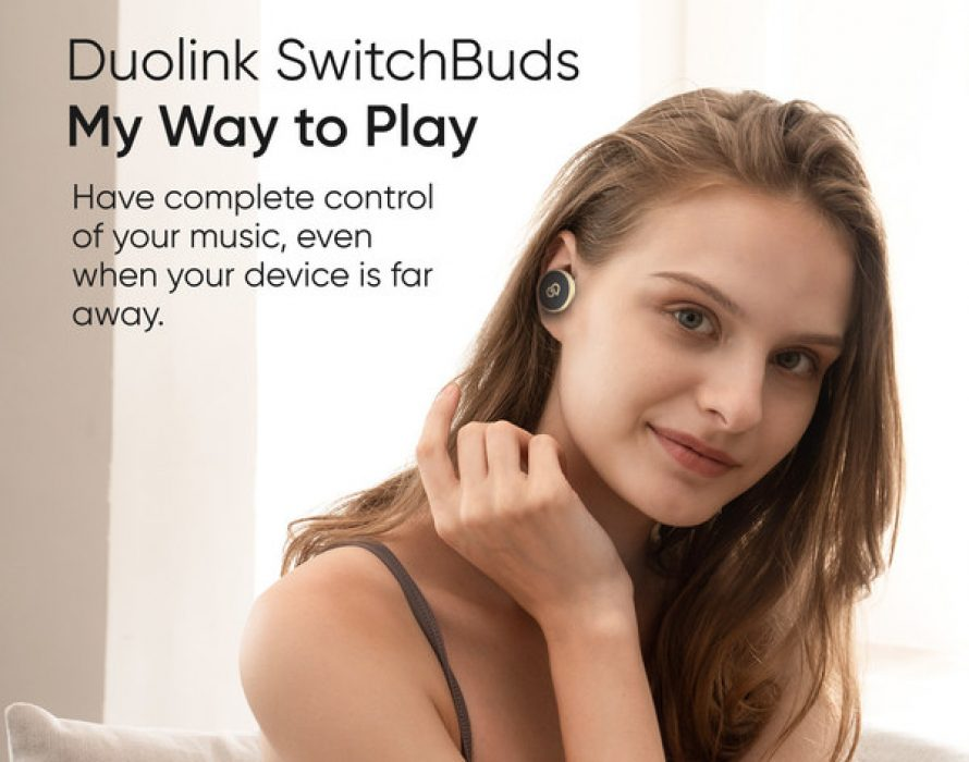 Duolink Go launches SwitchBuds, enabling wireless music control