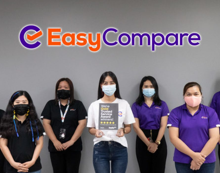 EasyCompare Wins Feefo Gold Trusted Service Award 2021 for Second Year Running