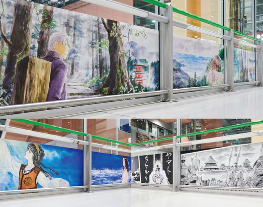 Eight Manga Artists' Works Exhibited at Kansai Airport Starting March 20