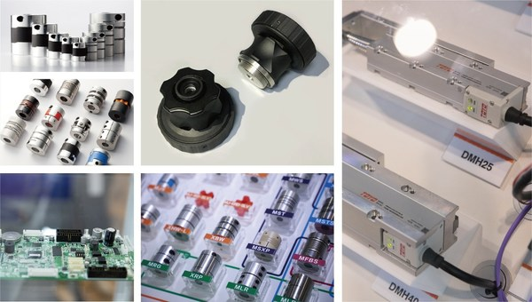 On-site exhibits of Medtec China