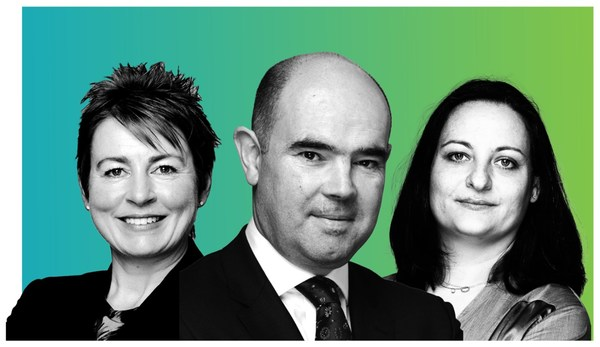 (From left to right) Jayne Sykes, Partner; David Sykes, Founding Partner; and Sotiria Papanicolaou, Partner, lead the PRMA Consulting team