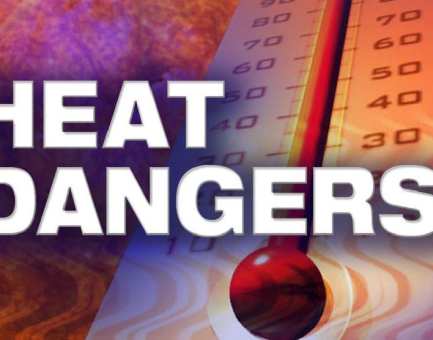 Safeguarding against heatstroke during hot spell
