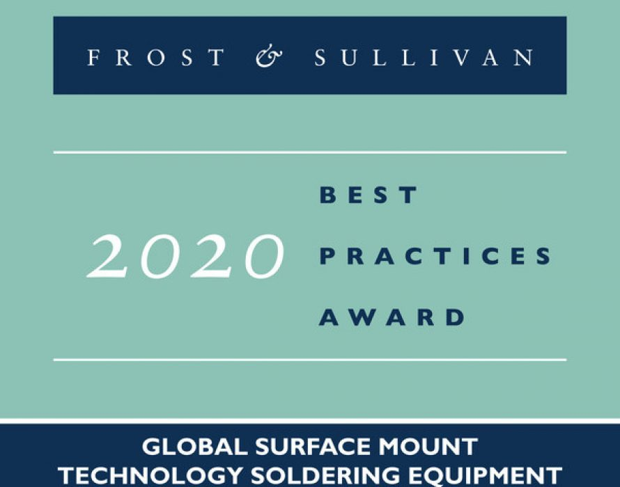 Heller Industries Wins Frost & Sullivan Acclaim for Dominating the Convection Reflow Soldering Market with High-efficiency MK7 Oven Series