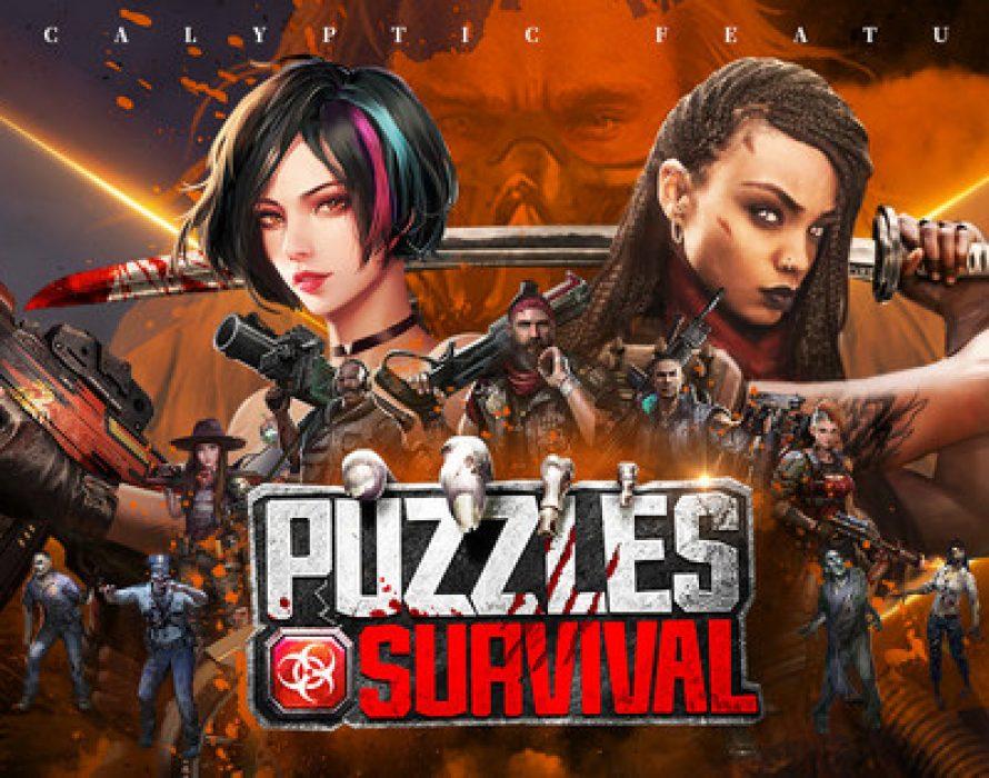 Hot Match-3 Zombie Game, Puzzles & Survival, Hits Ten Million Downloads