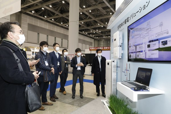 Huawei's smart string Energy Storage System (ESS) LUNA2000-5/10/15 has been turning heads at the exhibition