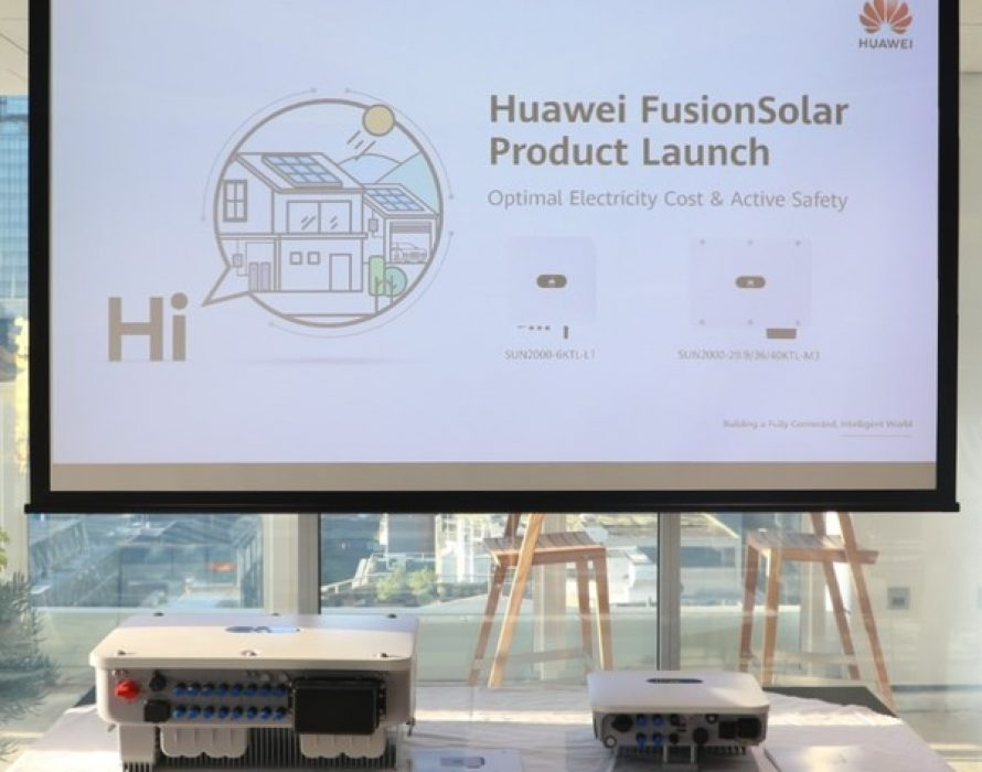 Huawei unveils its latest FusionSolar Smart PV offerings