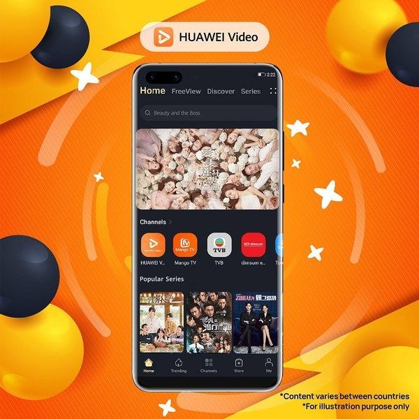 HUAWEI Video, the video-on-demand (VOD) streaming platform by Huawei, is looking to celebrate its first-year anniversary with its fans in Hong Kong. In conjunction with its anniversary, the streaming platform today announced the launch of its limited-time 'HUAWEI Video Turns 1' contest, where users in Hong Kong can compete to win Huawei's latest products and free subscription to its service.
