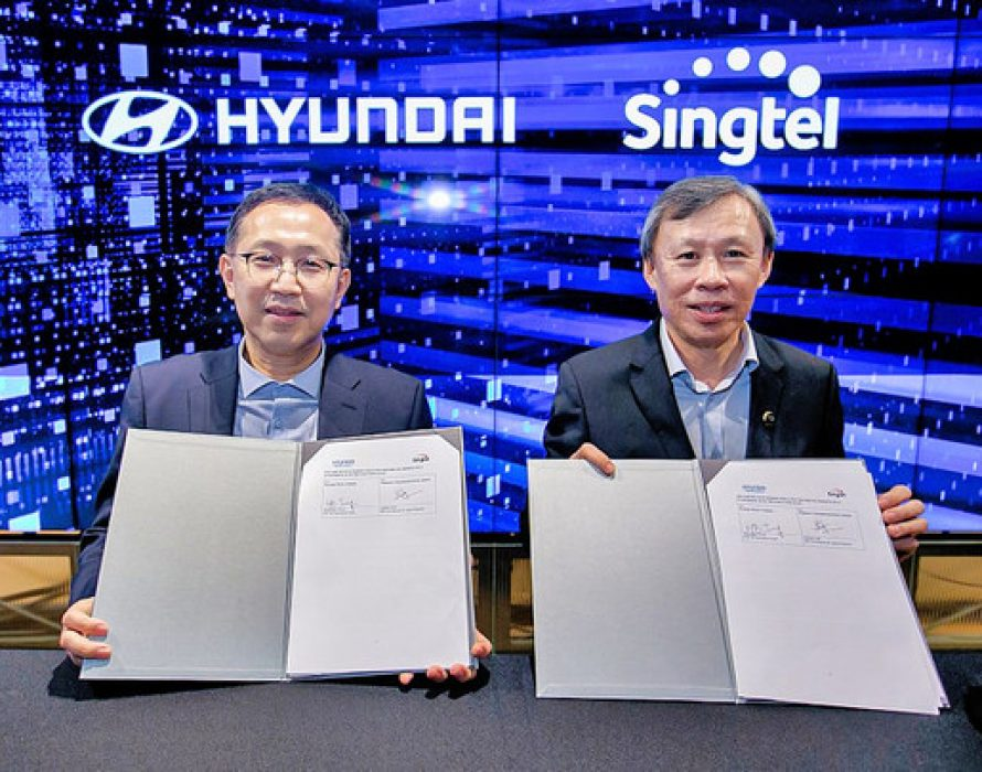 Hyundai Motor Company and Singtel collaborate to advance Singapore's smart mobility ecosystem and Industry 4.0 journey