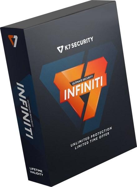 K7 Computing Launches Lifetime Valid Antivirus – K7 Ultimate Security Infiniti Edition
