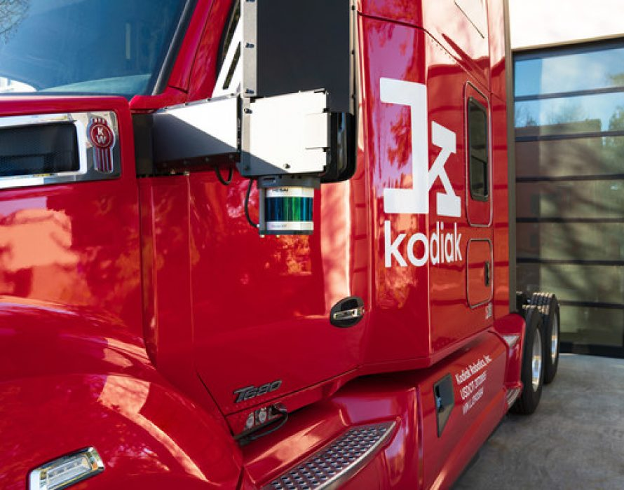 Kodiak Robotics and Hesai Technology Announce Partnership to Integrate Hesai LiDARs onto Kodiak Trucks
