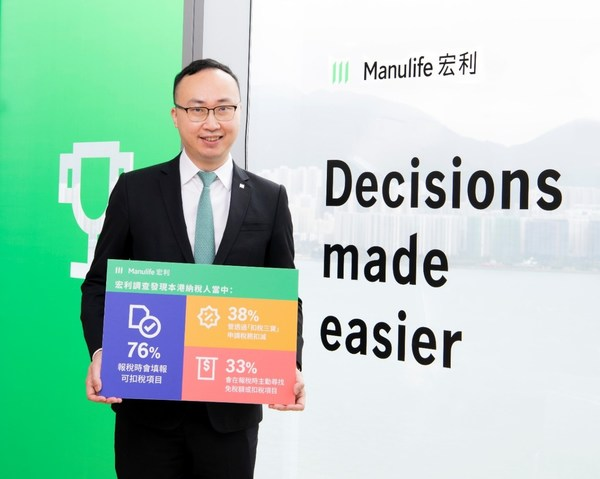 Wilton Kee, Chief Product Officer and Head of Health at Manulife Hong Kong, said Hongkongers are generally good at leveraging tax-deductible items to ease their tax burden. However, public awareness and knowledge about the three tax-deductible products still sees room for enhancement.