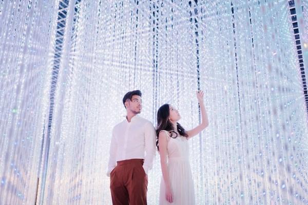 Benjamin Kheng and Annette Lee at Crystal Universe