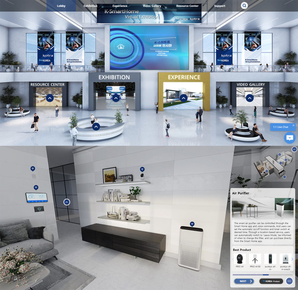 K-SmartHome Virtual Exhibition