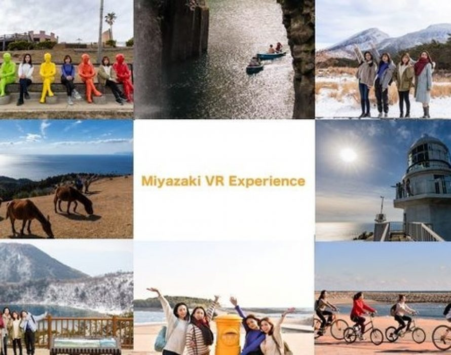 Miyazaki Prefecture Plans and Produces Promotional Videos Showcasing the Prefecture's Charms Using Virtual Reality, Miyazaki VR Experience