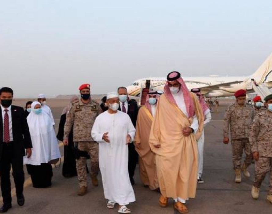 Muhyiddin arrives in Madinah