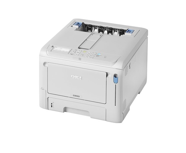 OKI C650 is a small yet powerful high-performance A4 colour printer.
