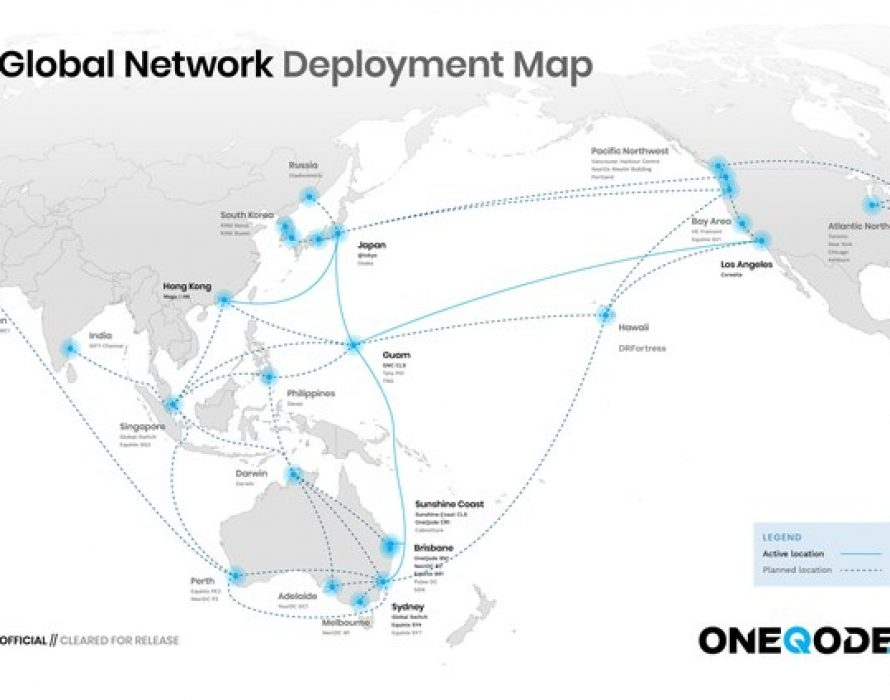 OneQode's Enterprise Network Ready For Service Across Asia-Pacific