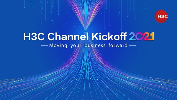 """H3C Channel Kickoff 2021 Russia event was virtually launched on March 4. This event encourages overseas partners to """"Move their business forward"""" by embracing new challenges and seizing opportunities alike, to jointly create more business value with H3C in 2021."""