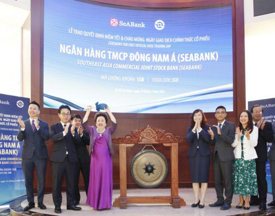 SeABank SSB Trades on HOSE — Capitalization exceeds USD1 billion after ATO