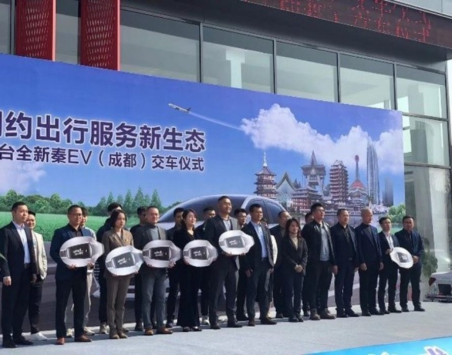 Senmiao Technology Continues its Cooperation with BYD in a Celebration of the Latest Delivery of Electric Vehicles for Ride-Hailing