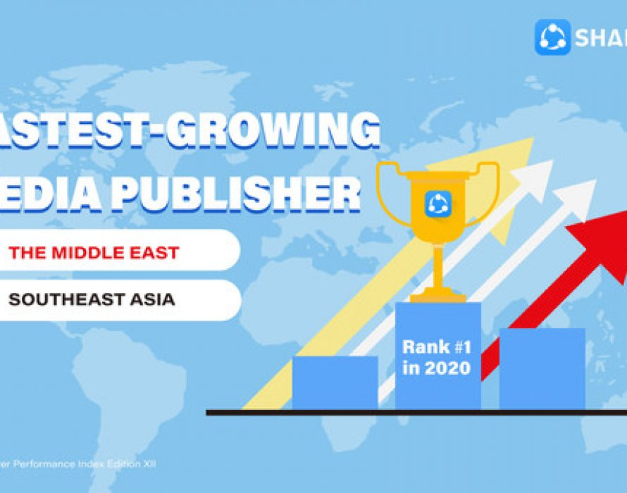 SHAREit tops amongst the fastest-growing media publishers in Southeast Asia and the Middle East in H2 2020