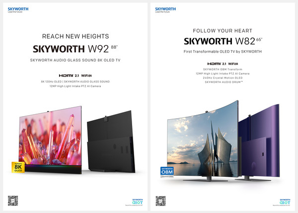 SKYWORTH W82 and SKYWORTH W92