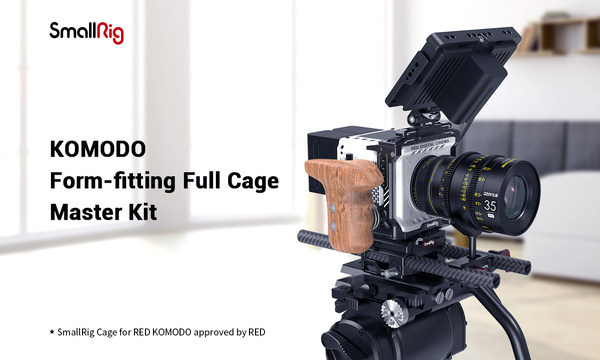 KOMODO Form-fitting Full Cage Master Kit Approved by RED