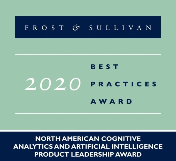 2020 North American Cognitive Analytics and Artificial Intelligence Product Leadership Award