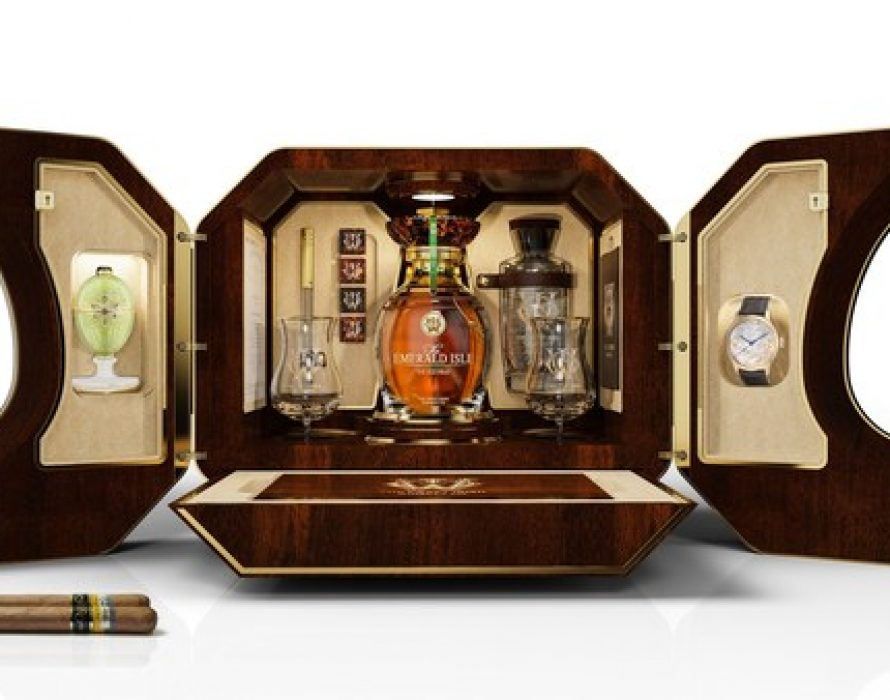The Craft Irish Whiskey Co. Sets the Record for the World's Most Expensive Whiskey Collection in Partnership With Fabergé