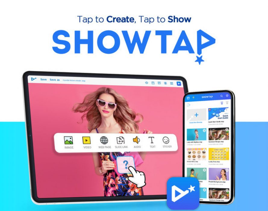 "The Real-Time Moving Show on the Screen ""Showtap"" App Launch"