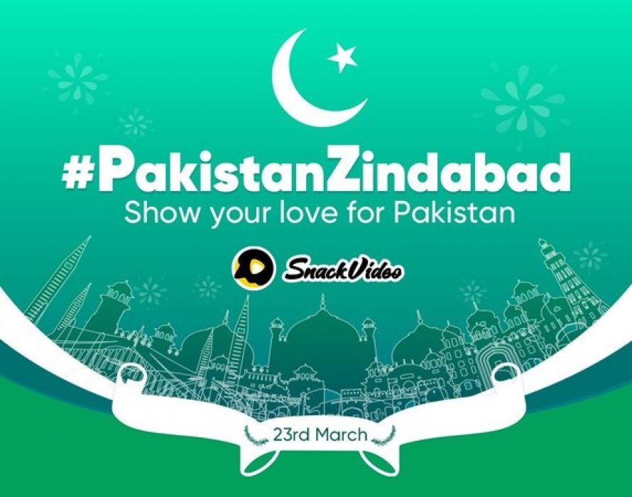 The SnackVideo viral challenge helping celebrating Pakistan Resolution Day