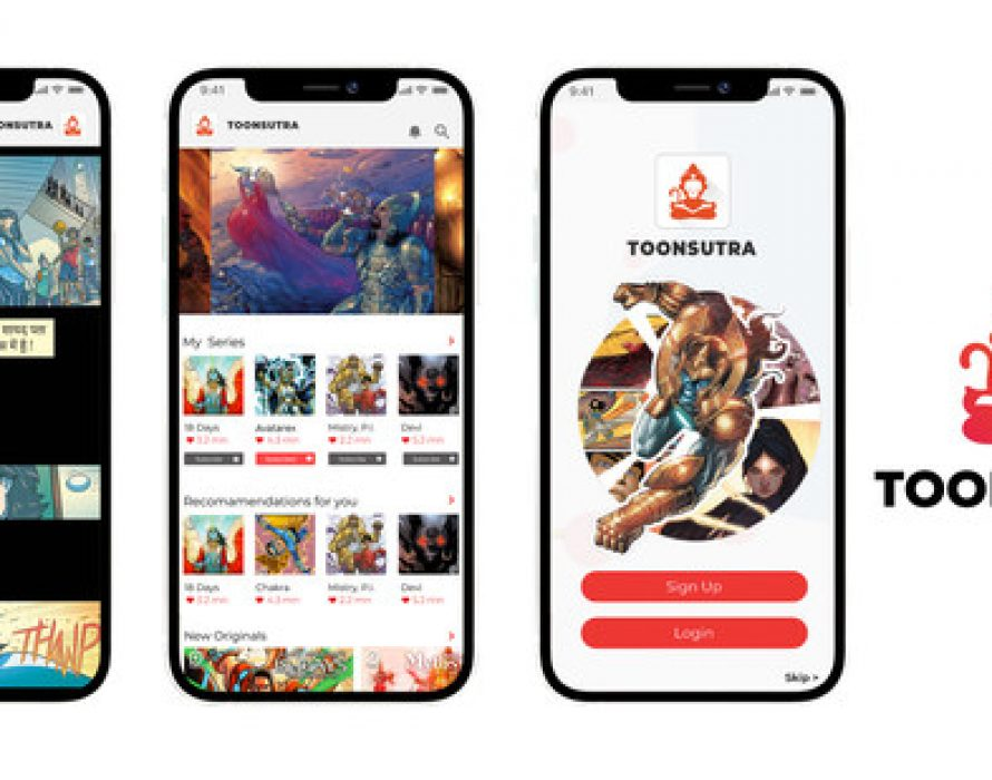 Toonsutra to Launch as India's First Webtoon Comics App