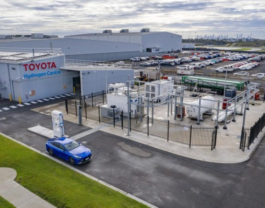 Toyota Unveils Victoria's First Commercial Hydrogen Production and Re-Fuelling Facility at Centre of Excellence