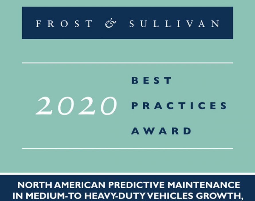 Uptake Recognized by Frost & Sullivan for Its Predictive Modeling Solutions for Medium-to-heavy-duty Vehicles