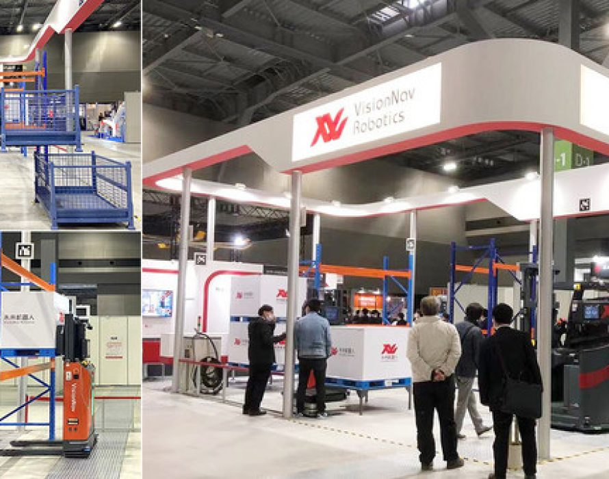 VisionNav at LTT 2021: Driverless Industrial Vehicles with Latest Vision Technology Renovating Factory Intralogistics