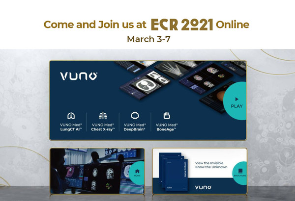 VUNO's Booth at ECR 2021